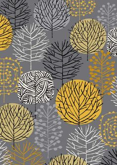 Painting Inspiration | Grey Woodland limited edition giclee print by EloiseRenouf on Etsy