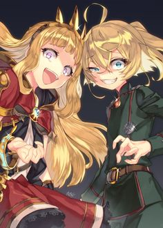 The Saga of Tanya the Evil, Tanya Degurechaff, Granblue Fantasy / 幼…女… - pixiv Anime Naruto, Naruto E Boruto, Girls Anime, Manga Girl, Art Manga, Manga Anime, Yandere, Tanya Degurechaff, Character Art