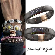 Nike+ Fuel Band SE $149- Functional flair to keep your arm party going even at the gym!