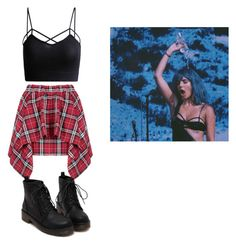 HALSEY INSPIRED OUTFIT by kishuh on Polyvore featuring polyvore, fashion and style
