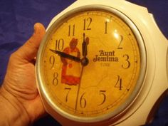 1950's Aunt Jemima Kitchen Clock