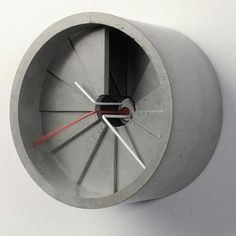 4D Concrete Clock