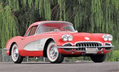 A 1960 Chevy Corvette roadster is part of the Ron Whorter Collection | Mecum Auctions