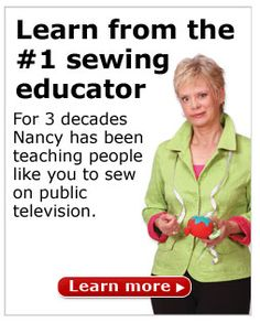 Ideas and Tips--Sewing with Nancy website