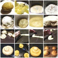 Bollos de patata - COMIENDO CON REYES Churros, Reyes, Empanadas, Scones, Queso, Oven, Recipes, Bagel Recipe, Sweet Bread