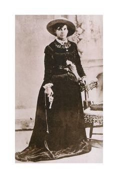 Belle Starr. Female western outlaw