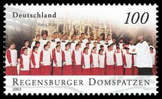 Stamp Germany 2003 MiNr2318 Regensburger Domspatzen.jpg