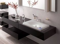 Luxury modern bathroom sink
