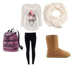 """Winter school days"" by ajlamiftari on Polyvore"