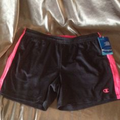 Women's training shorts S NWT Power train shorts. Double dry technology. NEW Champion Shorts
