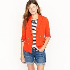 fabulous orange blazer