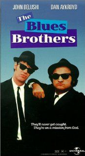 "The Blues Brothers. ""It's 106 miles to Chicago. We got a full tank of gas, half a pack of cigarettes, it's dark and we're wearing sunglasses!...........HIT IT!!!"" One of the best comedies of all time. Darn good music, too!"
