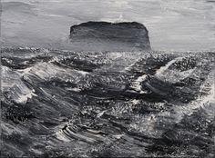 Westmännerinseln 02/28.07.07, 2007, Acryl auf Leinwand, 155 x 210 cm