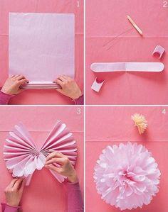 100均素材で簡単手作り♡可愛すぎるペーパーフラワーで結婚式を飾りつけ♩にて紹介している画像