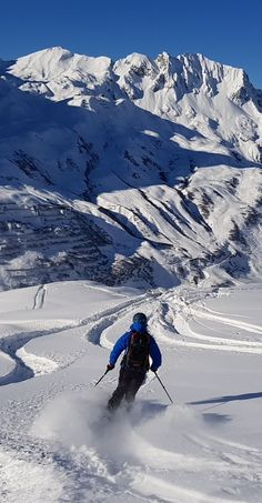 You can ride endless powder lines in Lech Zürs am Arlberg. Some of the most challenging runs here: