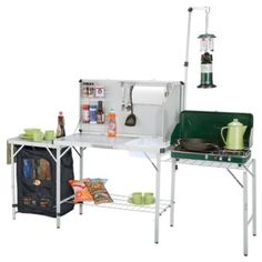 Bass Pro Shops® Deluxe Camp Kitchen That's why I calling it a Wishlist :) Camping