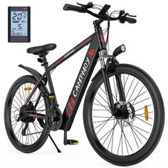 Walmart has the Campmoy Electric Mountain Bike, LCD Display, 36V Lithium Battery,350W Motor, 21- Speed Transmission, 5 Levels Electric/Pedal Assist Modes, 331LBS, Great for Commuting, Free Bike Lock marked down from $999.99 to $599.99 with free shipping. TO GET THIS DEAL: GO HERE to add it to your cart Select in store pick up or…