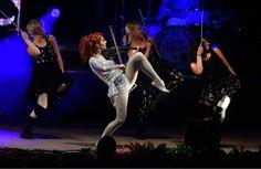 (Scott Sommerdorf      The Salt Lake Tribune)  Lindsey Stirling performs before…