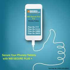 Secure your #Mobiles and #Tablets with WarrantyBazaar SECURE PLUS Plans. To Know more, visit the website. #securemobile