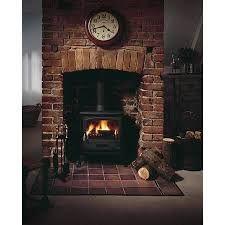 Image result for log burner in brick chimney breast