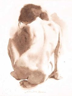Exceptional Drawing The Human Figure Ideas. Staggering Drawing The Human Figure Ideas. Human Figure Drawing, Figure Sketching, Body Drawing, Life Drawing, Watercolor Portraits, Watercolor Paintings, Watercolour, Figure Painting, Painting & Drawing
