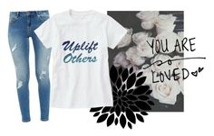 """""""Uplift Others!"""" by vanidclothing ❤ liked on Polyvore featuring GET LOST and Ted Baker"""