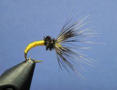 Tenkara on the Fly: Yellow Bee Takayama Sakasa Kebari