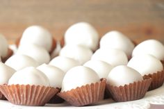 Greek Recipes, Mini Cupcakes, Good Food, Fun Food, Sweet Tooth, Almond, Bakery, Food And Drink, Sweets