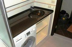 раковина со столешницей под стиральную машину