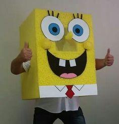 Huge spongebob suit.