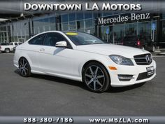 Certified Used 2015 Mercedes-Benz C-Class C250 RWD Coupe in Los Angeles