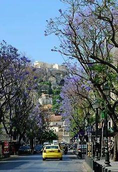 Thissio, Athens, Greece