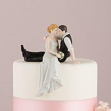 """The Look of Love"" Bride and Groom Couple Figurine.  Weddingstar.com- awesome website"