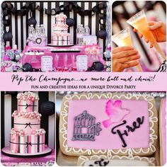 Pop the Champagne...No More Ball & Chain™ Divorce Party - Made by A Princess