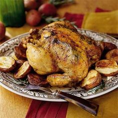 Jan's Roasted Chicken | MyRecipes.com