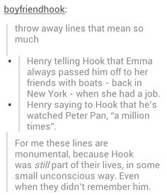 Never really though about this. Great point. Hook and Emma <3