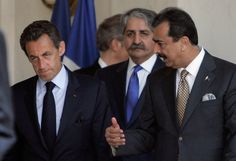 Yousuf Raza Gilani Photos - French President Nicolas Sarkozy (L) and Pakistan's Prime Minister Yousuf Raza Gilani (R) talk after a meeting at Elysee Palace on May 4, 2011 in Paris, France. After the death of al Qaeda chief Osama bin Laden, France has increased security measures throughout the country. - Pakistan Prime Minister Syed Yusuf Gilani Meets President Nicolas Sarkozy