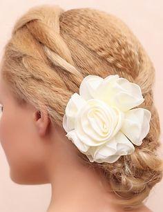 Prachtige katoen / kant bruids bloem hoofddeksel - EUR € 1.99