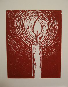 Hand Printed Linocuts - Great for Christmas Cards and Birthdays!