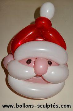 ballon père Noel