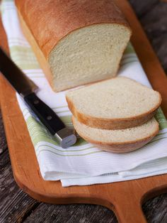 Maple White Sandwich Bread - a beautiful sandwich and toasting bread with just a bit of maple syrup to sweeten.