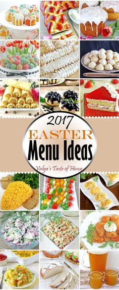In today's post you will find a collection of recipes we like to make for major holidays. I like to plan a holiday menu up to a month in advance, and do my grocery shopping about two weeks before baking time.