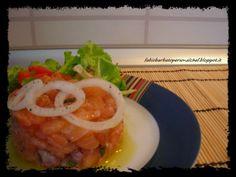 Tartare di Salmone ~ Fabio Barbato Personal Chef