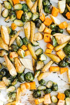 Easy method for roasting vegetables that are healthy and turn out perfect every time