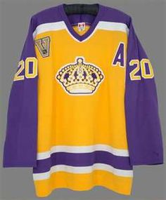 Luc Robitaille - LA Kings Vintage Jersey with