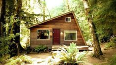 $50K Gets You This 320-Square-Foot Mt. Index Tiny Cabin
