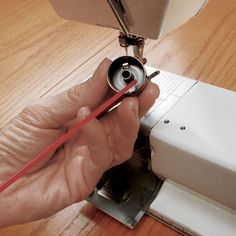 Cleaning inside bobbin case Most sewing machine problems can be traced to poor general maintenance or neglect. Learn how to keep your machine in tiptop shape with only a few simple supplies and a few minutes of attention daily, weekly, or monthly— depending on how much you sew.