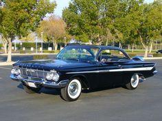 61 impala.. My Dad's dream car. One day, I'll buy one for him!