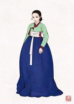 By 흑요석/19세기 한복
