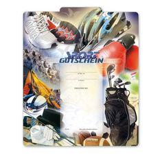 Multicolorgutschein SP220 für Sportfahhandel Things To Do, Cards, Gifts